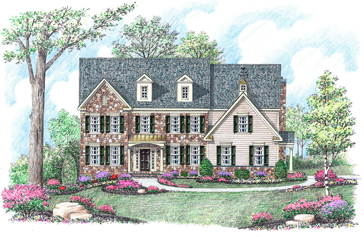 Available homes stone house builders llc maryland for Stone house builders