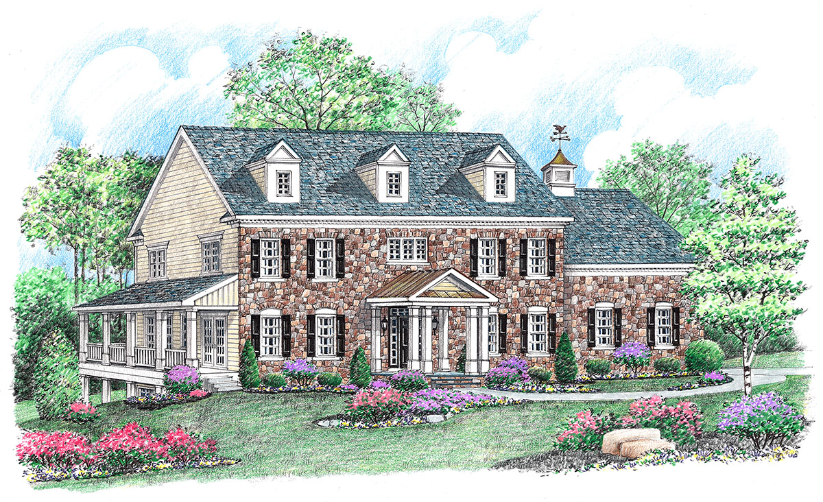 Available homes stone house builders llc maryland for Builders in md